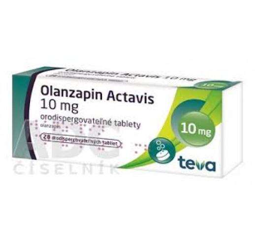 Оланзапин Актавис 10мг, 28 таблеток (растворимые во рту)